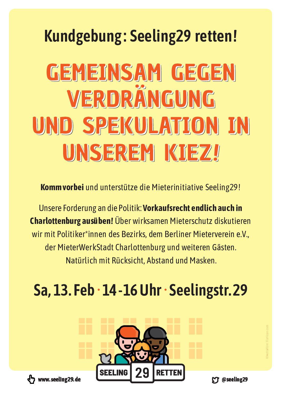 Einladung zu unserer Kundgebung am 13.2.21