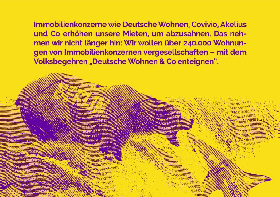 Deutsche Wohnen Enteignen: Kundgebung und Unterschriftensammelaktion Samstag, 27.2.21 @Seeling29